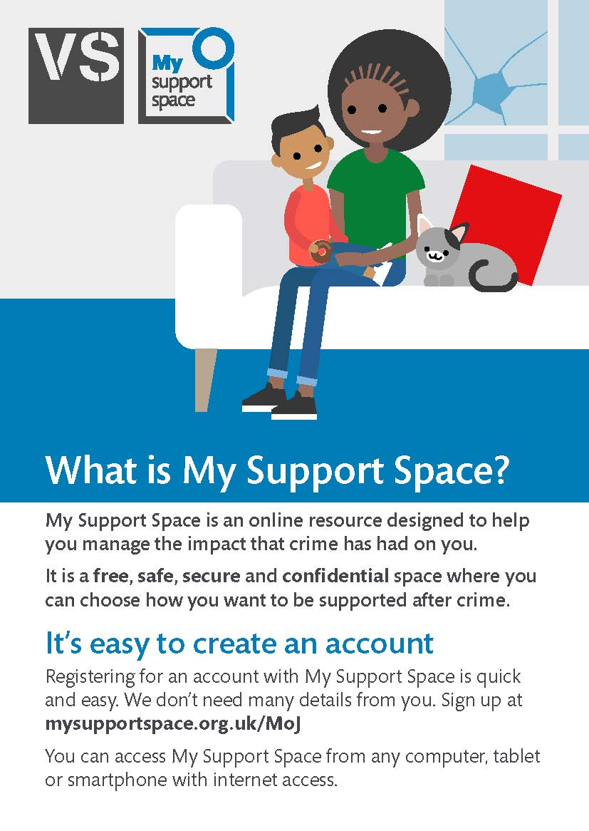 My Support Space Page 1